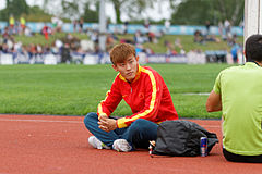 2014 DécaNation - Pole vault 04.jpg