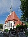 2014 Nysa, Kościół cmentarny Świętego Krzyża 03.JPG