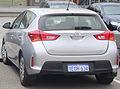 2014 Toyota Corolla (ZRE182R) Ascent hatchback (2015-02-17).jpg