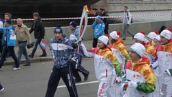 Fișier:2014 Winter Olympics torch relay (Moscow).ogv