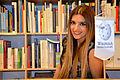 2015-12-17 Freundeskreis Hannover in der Kestnergesellschaft, (349b) Ayda Iciok, Sängerin der Gruppe Shanaya, im Wikipedia-Büro Hannover.jpg