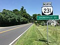 2016-07-21 13 16 25 View north along Virginia State Route 231 (Blue Ridge Turnpike) just north of U.S. Route 29 Business (Main Street) just north of Madison, Madison County, Virginia.jpg