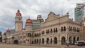 Regent Alfred John Bidwell - Sultan Abdul Samad Building, first major work by Bidwell