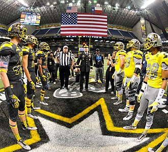 2016 Texas Longhorns football team - Three of Texas' eventual recruits played at the 2016 U.S. Army All-American Bowl on January 9, 2016