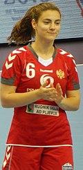 2016 Women's Junior World Handball Championship - Group A - MNE vs DEN - Branka Konatar.jpg