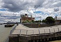 2016 Woolwich, Royal Arsenal, Waterfront construction site 11.jpg