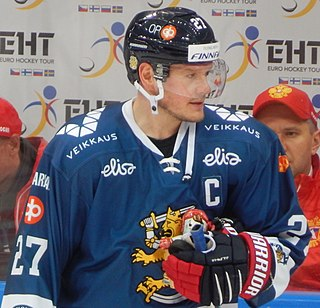 Petri Kontiola Finnish ice hockey player