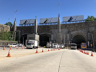 Lincoln Tunnel Tunnel under the Hudson River between Weehawken, New Jersey and Manhattan, New York