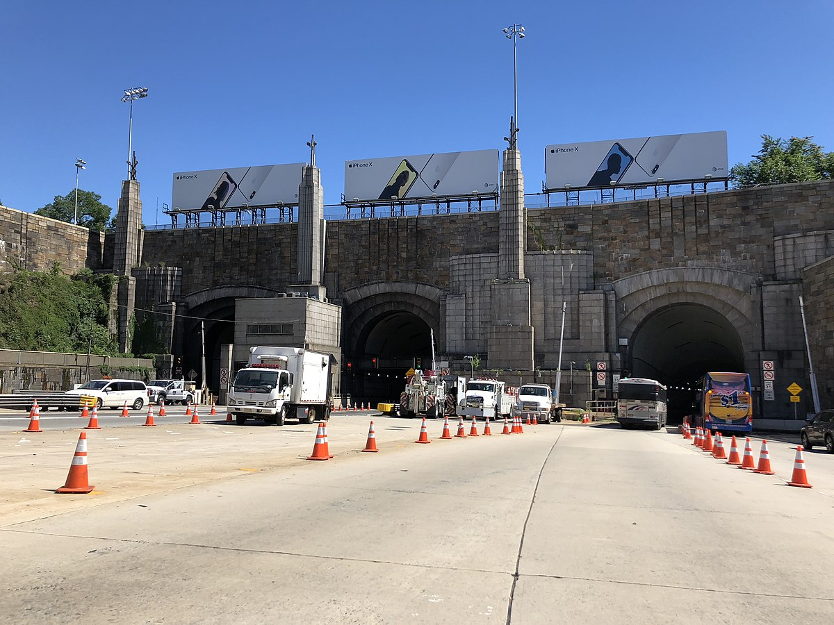 Cash For Cars Nj >> Lincoln Tunnel - Wikipedia