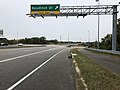 2018-10-26 14 07 53 View south along Virginia State Route 286 (Fairfax County Parkway) at the exit for Boudinot Drive in Newington, Fairfax County, Virginia.jpg