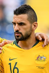 Aziz Behich, Australian-born football player.