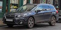 2018 Subaru Outback SE Premium Symmetrical CVT 2.5 Front.jpg