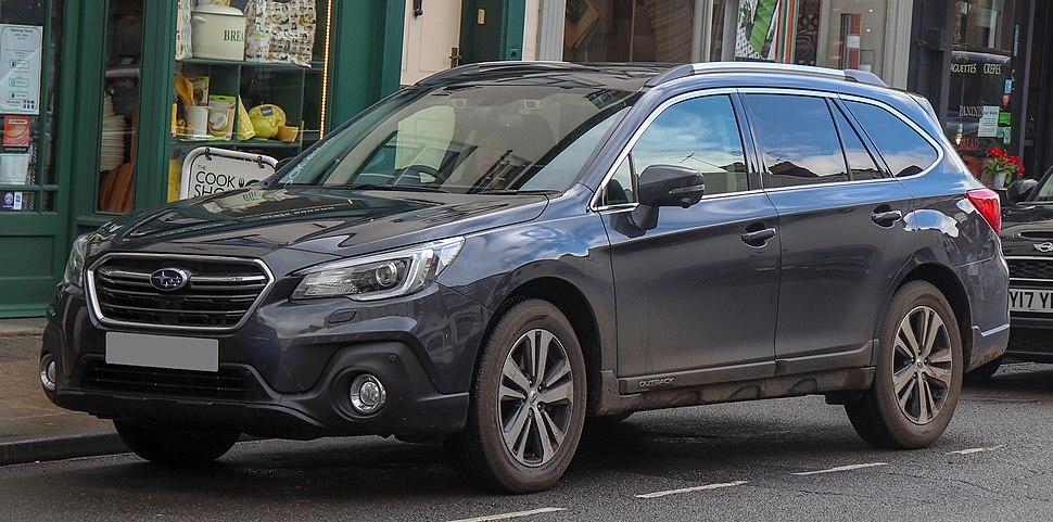 2018 Subaru Outback SE Premium Symmetrical CVT 2.5 Front