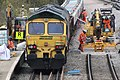 2018 at Filton Abbey Wood - relaying the main line (39) 66509.JPG