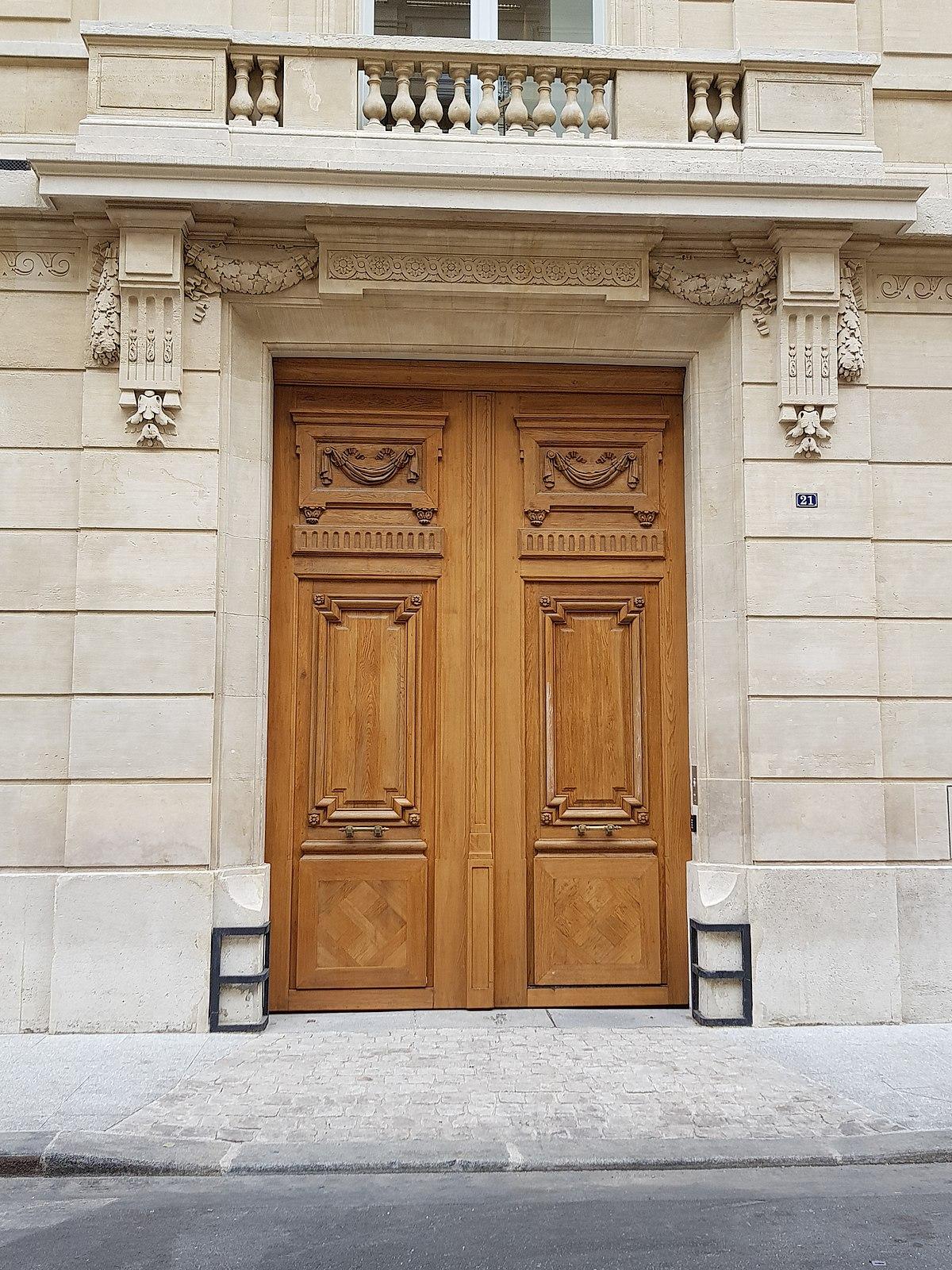 Sas D Entrée Interieur porte (architecture) — wikipédia