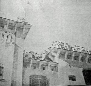 Universities in Bangladesh - Dhaka University, the first university in Bangladesh (image dated 1952)