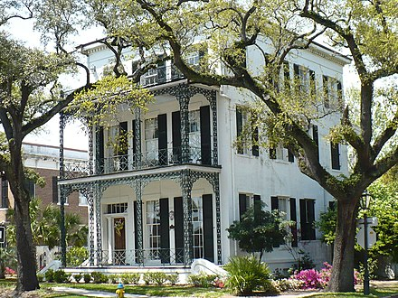 A house within the De Tonti Square Historic District 250 St. Anthony Street Mobile AL 01.JPG