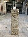 255 Antiga fita davant el Museu d'Història de Girona, c. Força 27.JPG