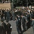 25 Jarig Regeringsjubileum Koningin Juliana Koninklijk Paar bij Militair Hulde, Bestanddeelnr 254-9323.jpg