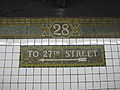 28th Street IRT Broadway 1464.JPG