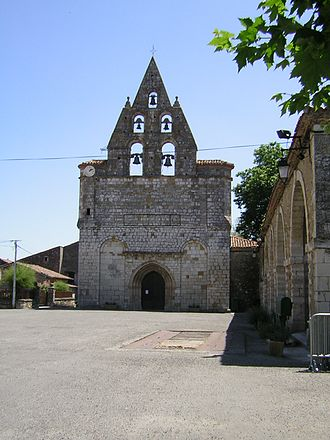 Alan, Haute-Garonne - The church in Alan