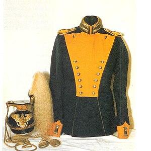 2nd Guards Uhlans - Prewar uniform of the regiment.
