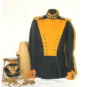 2nd Guards Uhlans - Prewar uniform of the regiment.