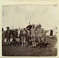 2 officers at a field hospital site during the Boer War Wellcome L0035093.jpg