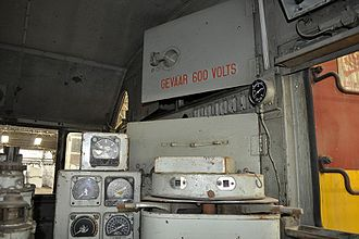 South African Class 32-000 - Cab of no. 32-021