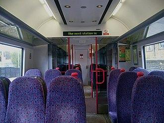 British Rail Class 333 - Image: 333010 Leeds DMSO Interior