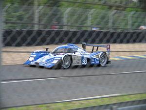 Jonny Kane - Kane driving the Lola B08/80 during the 2009 24 Hours of Le Mans.