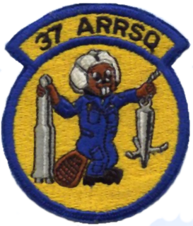 37th Aerospace Rescue and Recovery Squadron Former rescue squadron of the USAF active during the Vietnam War
