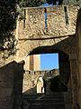 470 Portals del recinte inferior de la Suda, des de la Costa del Castell (Tortosa).JPG