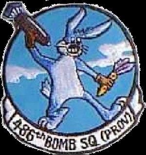 486th Bombardment Squadron - Emblem of the 486th Bombardment Squadron (Provisional)