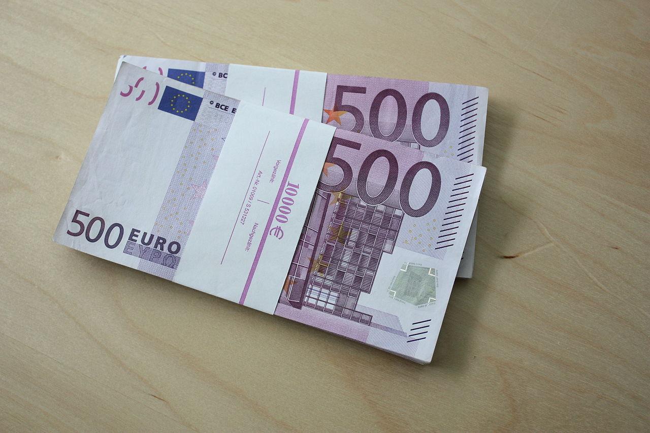 File 500 euro scheine 20000 euro a jpg wikimedia commons - Cuisine 10000 euros ...