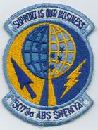 5073d Air Base Squadron - Emblem