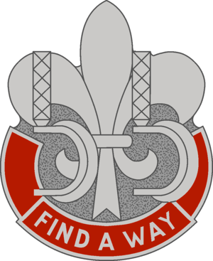 55th Support Battalion - Distinctive unit insignia 1968