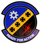 609 Organizational Maintenance Sq emblem.png