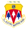 71st Flying Training Wing emblem (1973).png