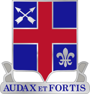 74th Infantry Regiment (United States) - Image: 74th Infantry DUI