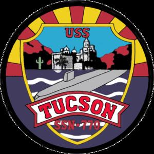 USS Tucson (SSN-770) - Image: 770insig