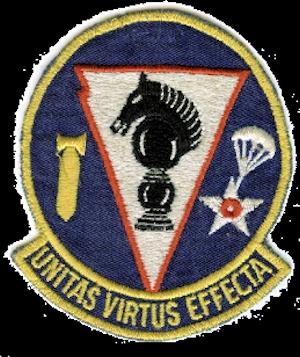781st Bombardment Squadron - Emblem of the SAC 781st Bombardment Squadron