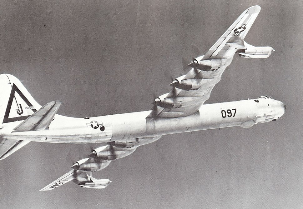 7th Bombardment Wing Consolidated B-36D-1-CF Peacemaker 44-92097