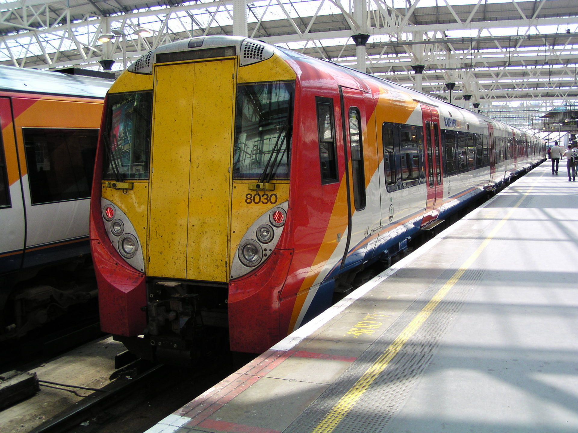 Px At London Waterloo on Toy Train Cars