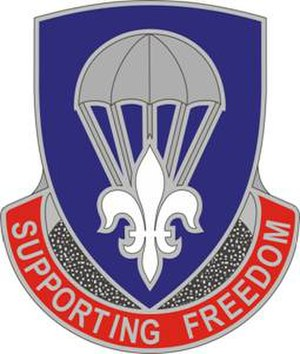 82nd Sustainment Brigade - Image: 82Sustain Bde DUI