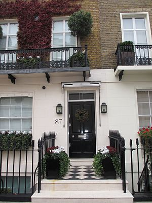 Donald Winnicott - Winnicott's home - Chester Square (Belgravia) 1951-1971