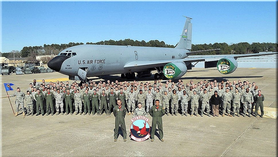 911th Air Refueling Squadron - KC-135