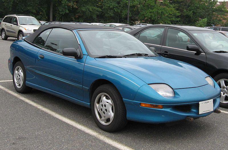 1999 Pontiac Sunfire Gt Convertible. 1995-1999 Pontiac Sunfire