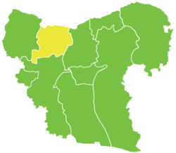 Azaz District in Syria