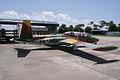 Aérospatiale Fouga CM.170-1 Magister RSideRear KAM 11Aug2010 (14980741721).jpg